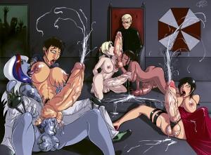 Ada_Wong Albert_Wesker Chris_Redfield Devil_HS Jill_Valentine Resident_Evil Sheva_Alomar