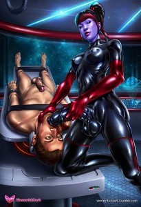 Alien Futanari Mistress
