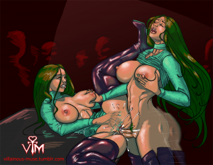 Athletic futa fucks female by Villainous Muse