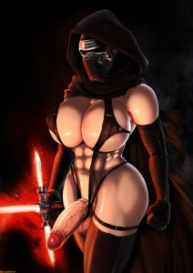 Futanari Kylo Fem by Shadman for the StarWars fans