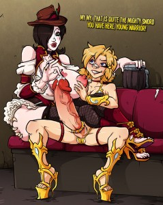 Futanari Tiny Tinas Assault on Mad Moxxis by Sparrow