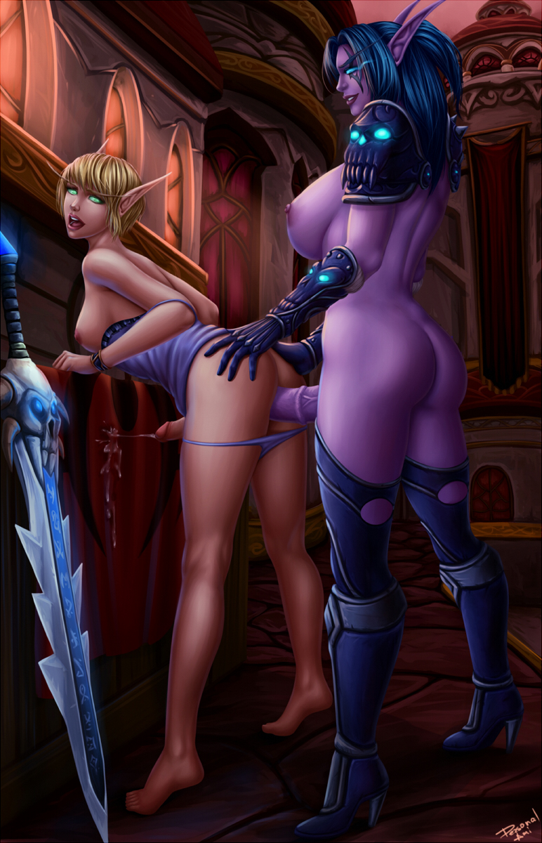 A night elf sucking penis nude picture