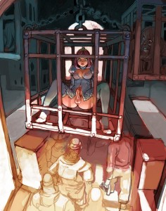 Hentai shemale princess caged