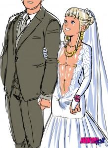 Hentai trap bride manga