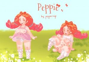 Midget redhead futa Peppie