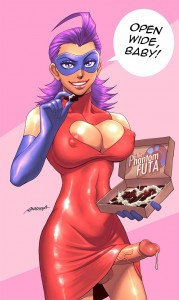 Phantom Futa wishing you happy valentines