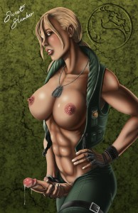 Sonya Blade by sweetslumber