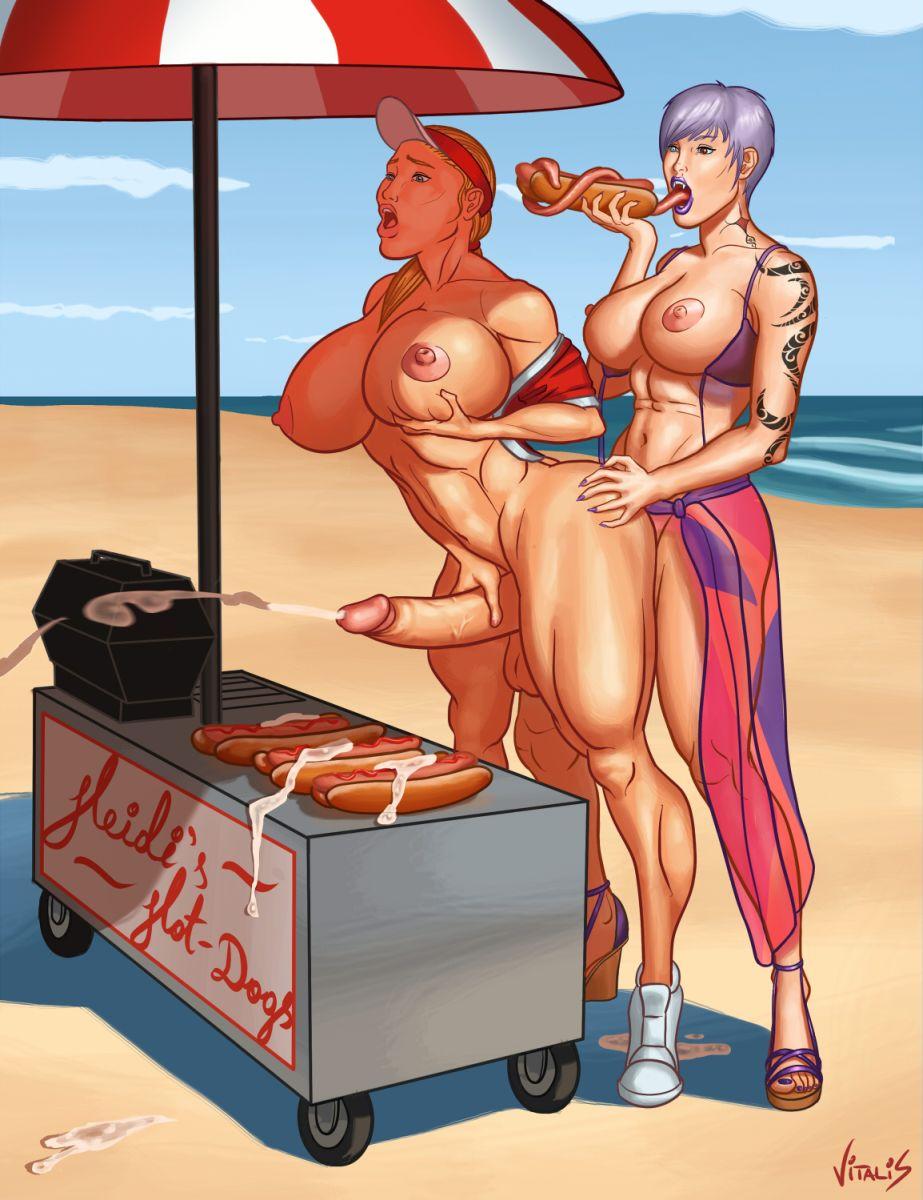 Futa beach porn pics hentai scene