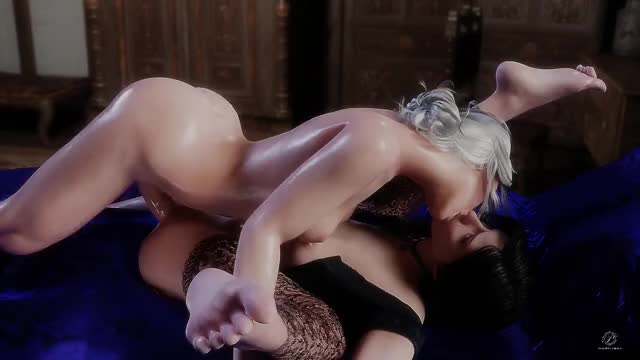 Ciri & Yennefer sex video by Pewposterous